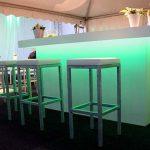 Voorzetbar Wit met LED