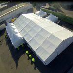 Aluminium Constructie Tent 10 x 10 meter Lydison Verhuur
