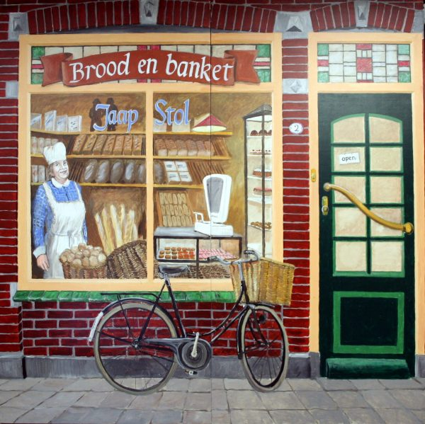 Bakkers Winkel Decor 2 delig 244 x 244 cm Lydison Verhuur