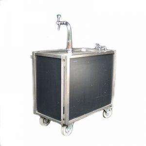 Biertap Buffet 200 x 60 cm met Tapinstallatie 220 volt 400 watt Inklapbaar Lydison Verhuur