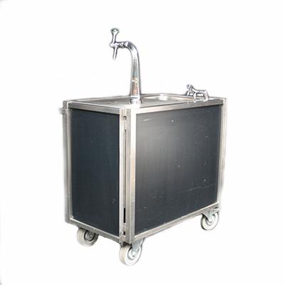 biertap buffet 200 x 60 cm met tapinstallatie 220 volt 400 watt inklapbaar lydison verhuur. Black Bedroom Furniture Sets. Home Design Ideas