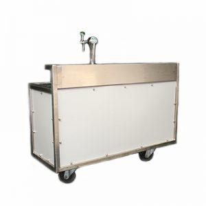 Biertap Buffet 160 x 60 cm met Tapinstallatie 220 volt 400 watt Lydison Verhuur