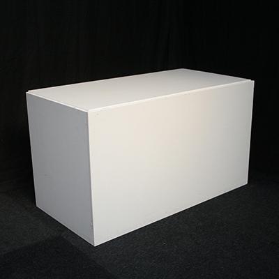 Buffet tafel Lounge 160 x 80 cm kleur Wit Lydison Verhuur