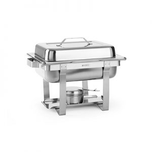 Chafing Dish 1 vaks 4 Liter inclusief Brandpasta Lydison Verhuur