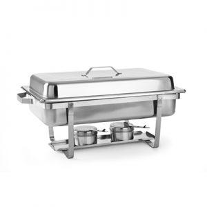 Chafing Dish 1 vaks 8 Liter inclusief Brandpasta Lydison Verhuur