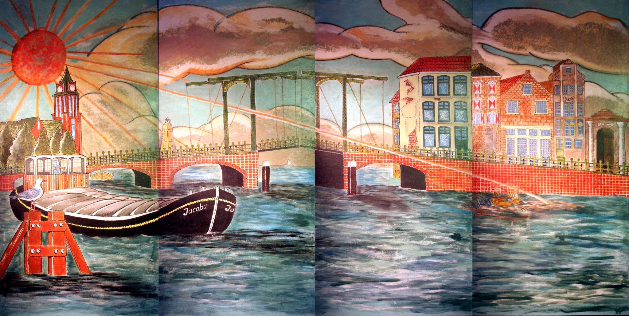 Haven Decor 4 delig 488 x 240 cm Lydison Verhuur