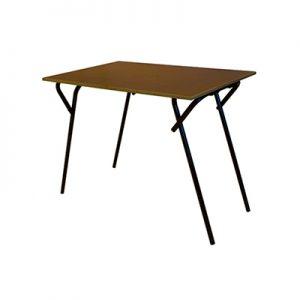Klaptafel 60 x 90 cm type metaal frame Lydison Verhuur