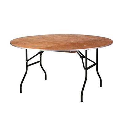 Klaptafel rond 150 cm 8 personen Lydison Verhuur