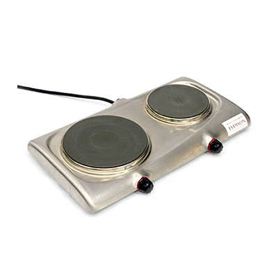 Kookplaat Electrische 2 Pits 2500 watt 220 volt Lydison Verhuur