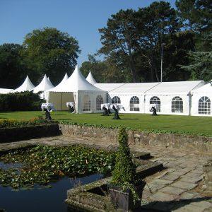 Aluminium Constructie Tent 15 x 15 meter Lydison Verhuur