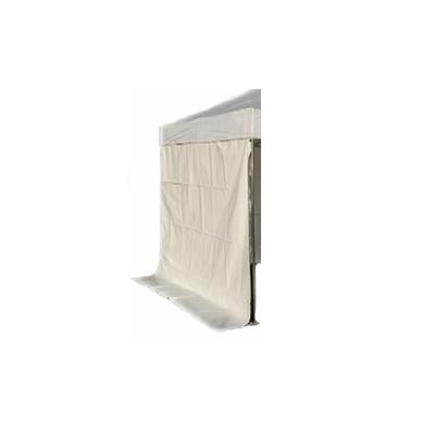 Zijzeil Wit voor Party Tent 3 x 4.5 meter Lydison Verhuur
