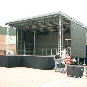 Podiumwagen Stage Mobil 61 Lydison Verhuur