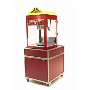 Popcorn Machine in Kar exclusief materiaal 220 volt Lydison Verhuur