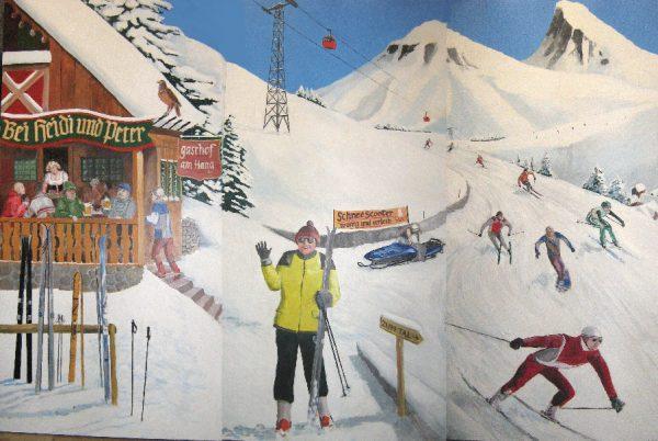 Ski Decor 3 delig 366 x 244 cm Lydison Verhuur