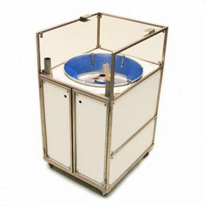 Suikerspin Machine in Kar exclusief Materiaal 220 volt 1500 watt Lydison Verhuur