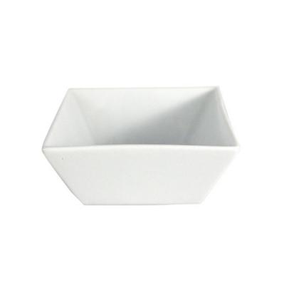 Tapas Schaaltje wit 8 x 8 cm Porselein Lydison Verhuur