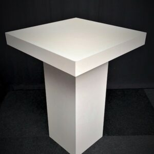 Statafel-80-x-80-cm-Wit-Lydison-Verhuur