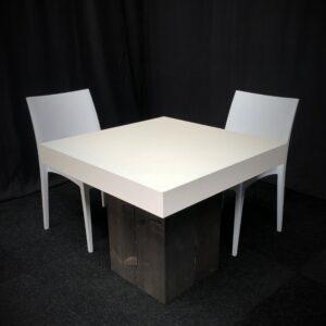 Tafel-BONN-Zwart-Wit-Lydison-Verhuur