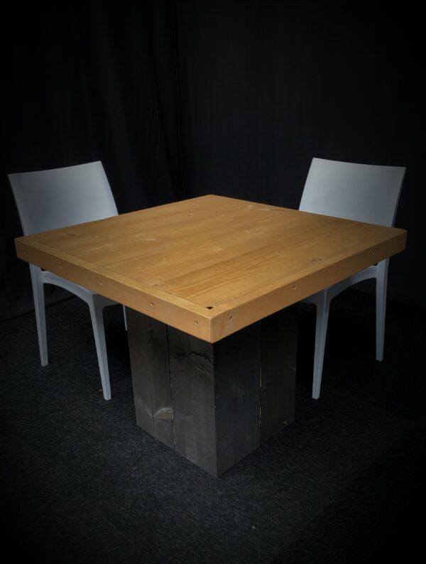Tafel-TRIER-Zwart-Bruin-Lydison-Verhuur